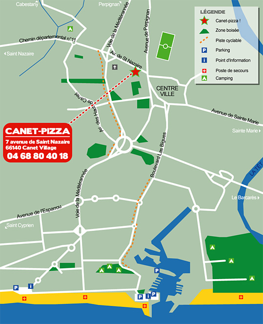 Plan canet plage
