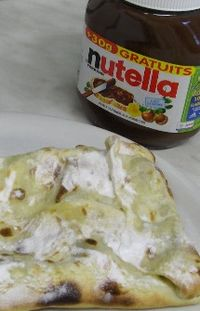 Pizza Nutella